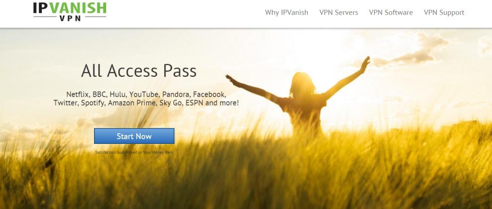 Oбзор сервисa IPvanish