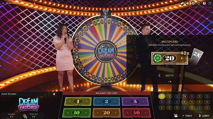 Dream Catcher Casino X